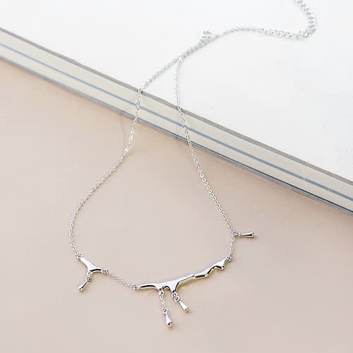 Silver Rain Necklace