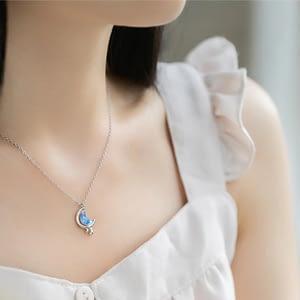 Moon Drops Necklace