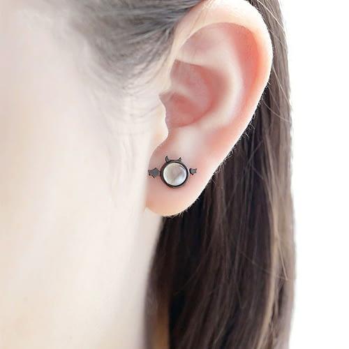 Devil Stud Earring Set