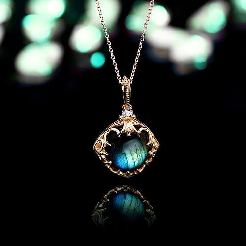 """Labradorite """"Destiny"""" Necklace"""