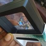 Aurora Borealis Earrings photo review