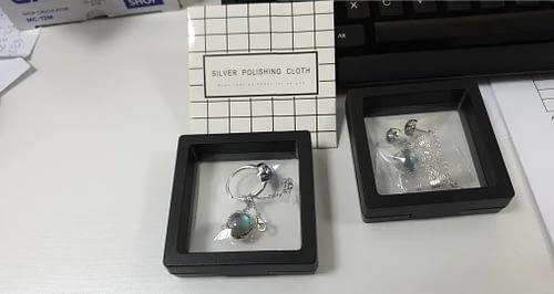 Aurora Borealis Jewelry Gift Set photo review