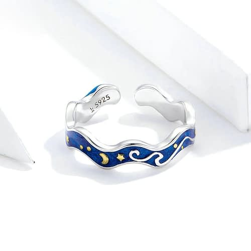 The Starry Night Ring