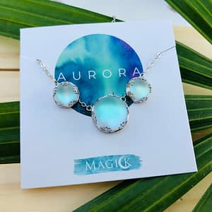 Aurora Necklace & Earrings Set