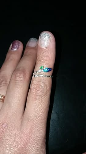 Elm Leaf Silver Ring photo review