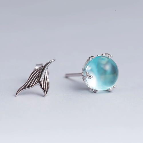 Jewel Of The Sea Mermaid Earrings