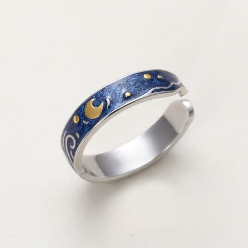 Starry Night Ring