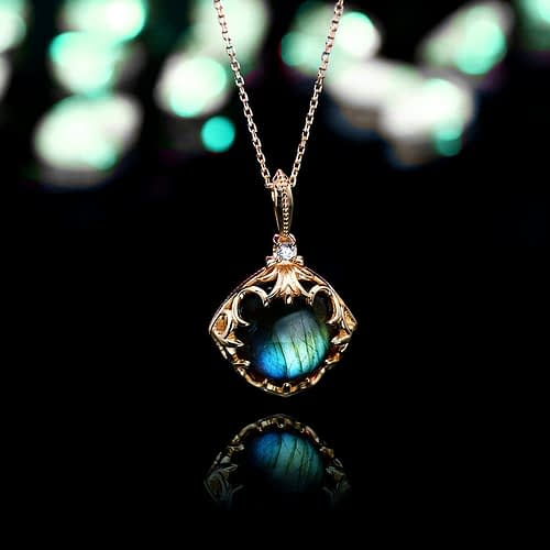 "Labradorite ""Destiny"" Necklace"