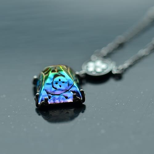 Electra Pyramid Necklace