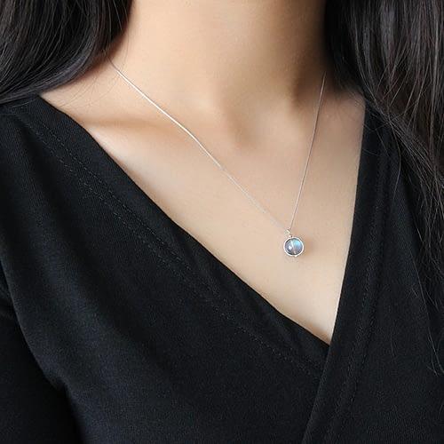 "Labradorite ""Energy"" Necklace"