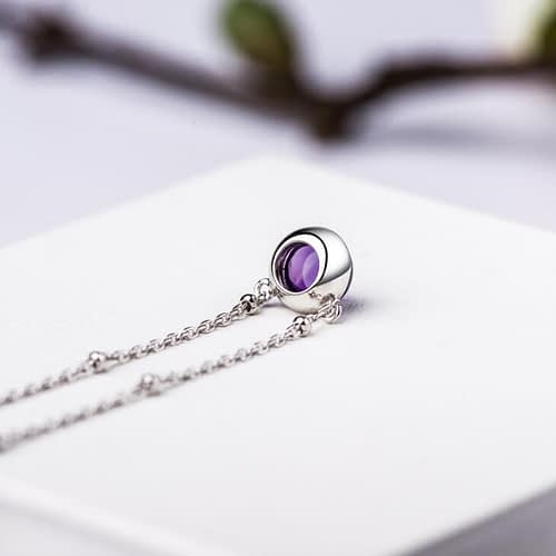"Amethyst ""Intuitive Eye"" Necklace"